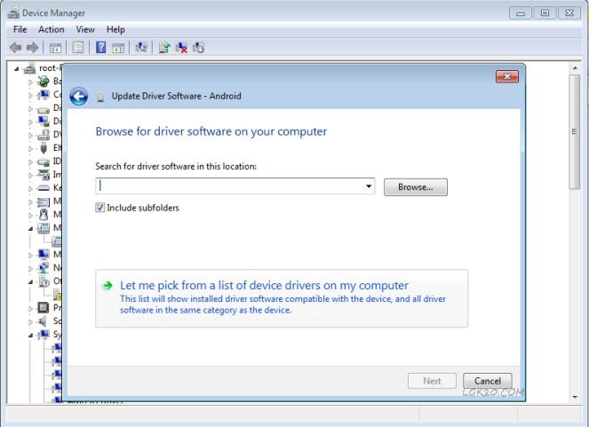 LG K20 Plus USB / ADB Drivers Windows 10 for MP260 & TP260