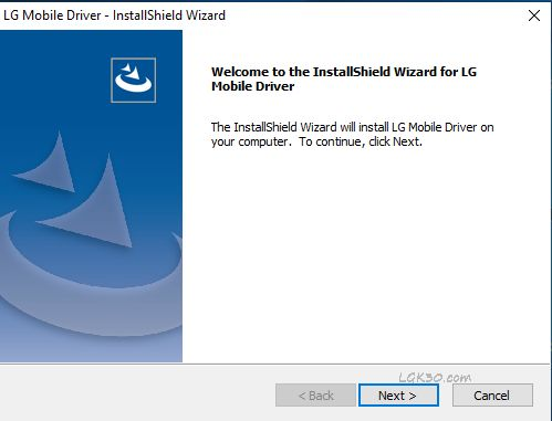 LG k30 download mode driver