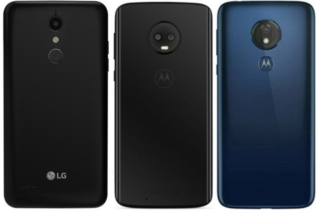 difference between lg k30, moto g6 and moto g7 power