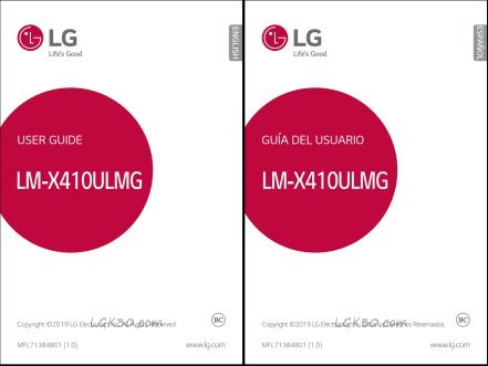 LG K30 Factory Unlocked User Manual lm-x410ulmg