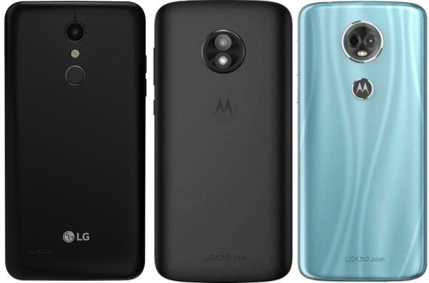 difference between lg k30, moto e5 play and moto e5 plus