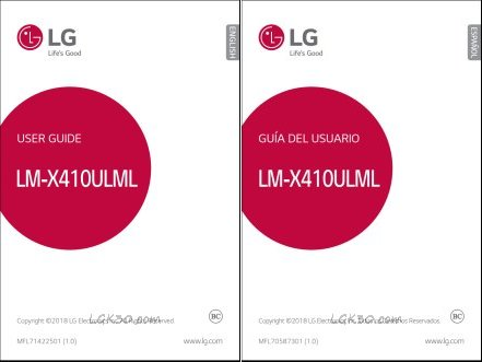 lg k30 manual spectrum mobile lmx410ulml