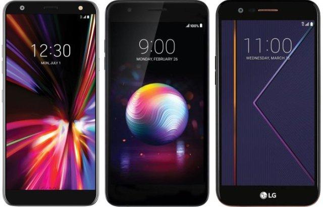 LG K20 vs K30 vs K40