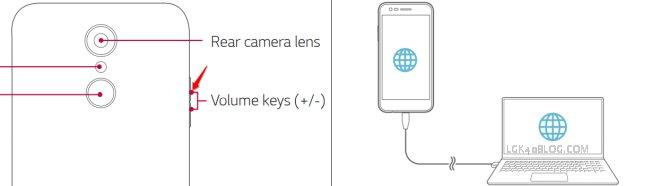 LG K40 Download Mode