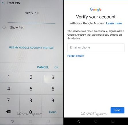 LG K40 FRP Bypass 2019 2020 Google Account without PC lmx420mm