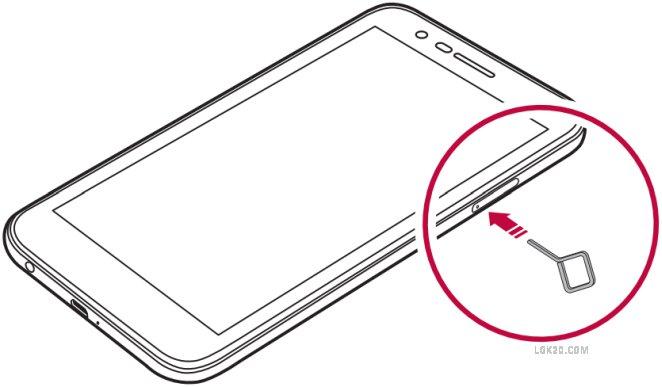Does LG K30 have a SIM Card