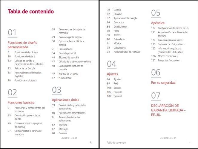 AT&T LG K40 Manual PDF