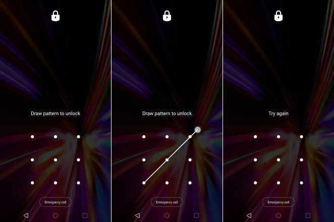 lg k40 lock screen bypass