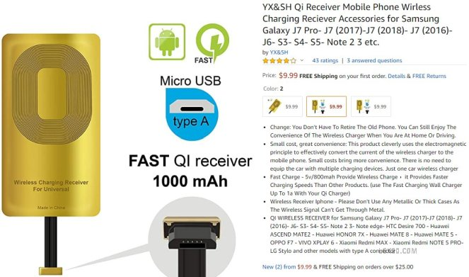 wireless charger for lg k40