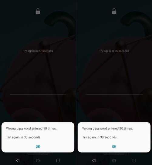 how to bypass lg k51 lock screen without reset