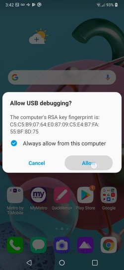 how to root lg k51 lmk500