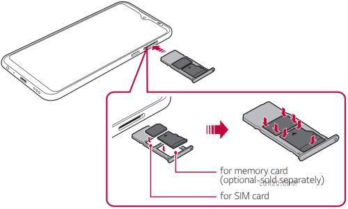 lg k51 expandable memory