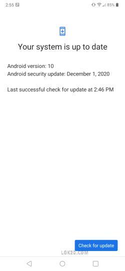 lg k51 metro software update