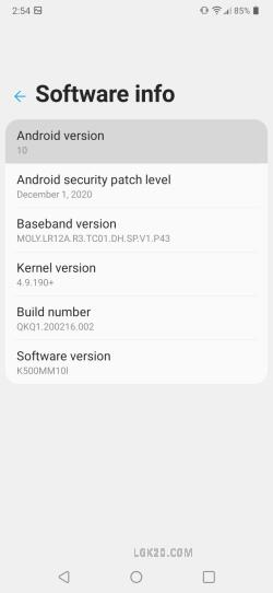 lg k51 android 10 boost mobile