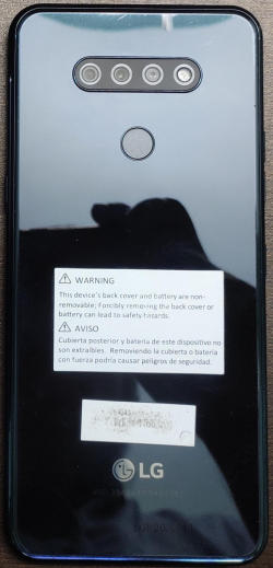 Does LG K51 have a Glass Back?