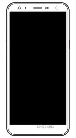 lg k30 k40 black screen