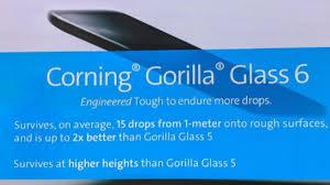 Does LG K51 have Gorilla Glass?